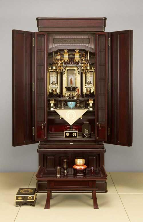 浄土真宗本願寺派の仏壇の飾り方 | ぶつえいどう