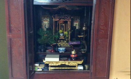 仏壇、仏像、仏具の修理・洗濯