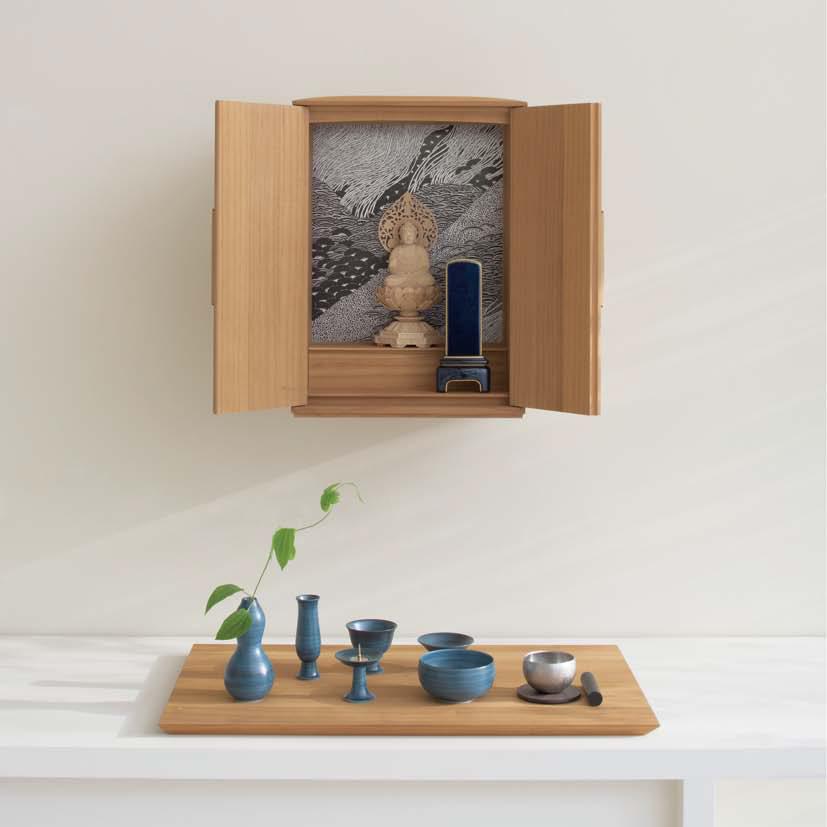 壁掛け仏壇の魅力と設置方法を紹介【小さい子どもやペットの居る家庭にもおすすめ】