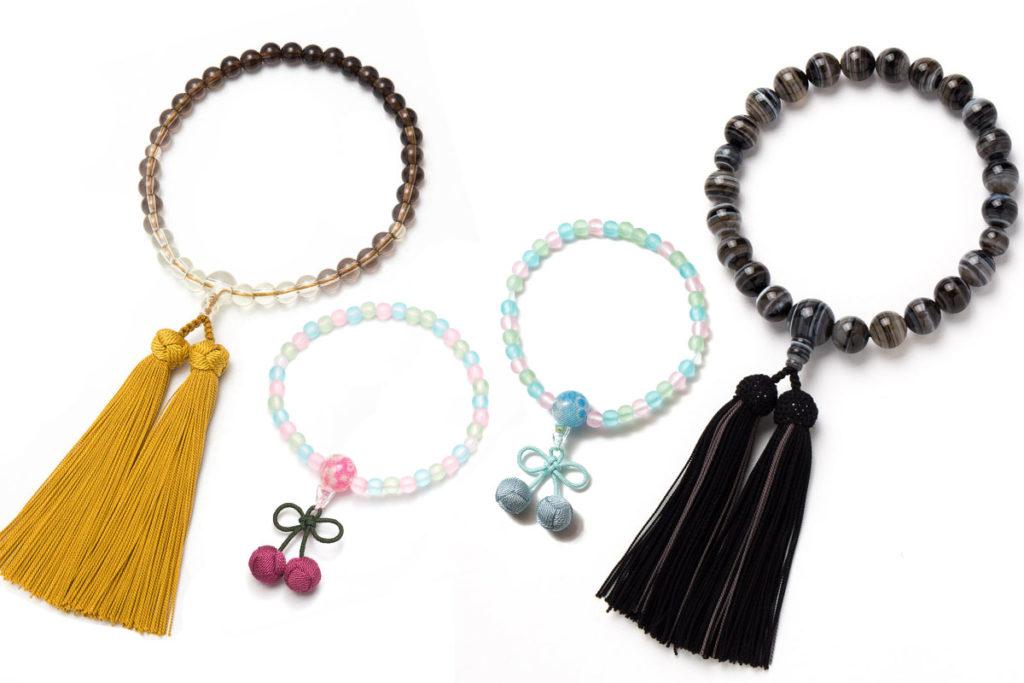 子供用の数珠と大人用の数珠の違いって?