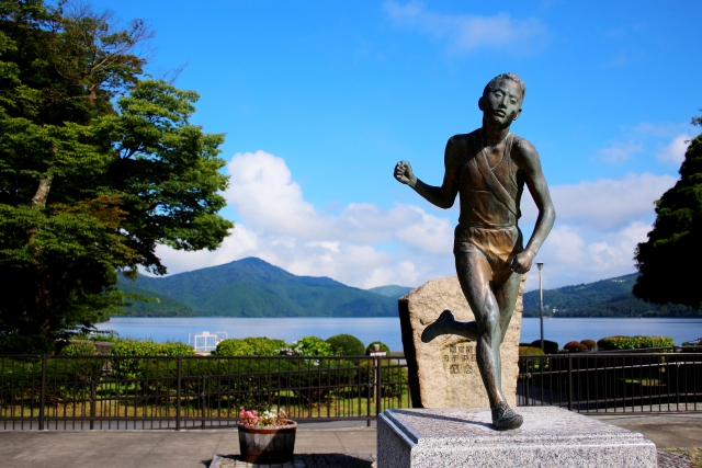 芦ノ湖銅像