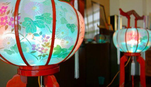 お盆に飾る盆提灯。どんな意味があるのでしょうか?