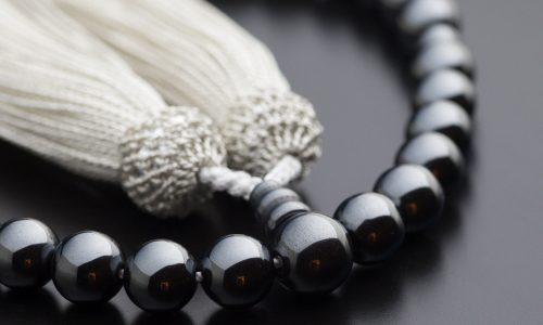 念珠の素材紹介 − ヘマタイト
