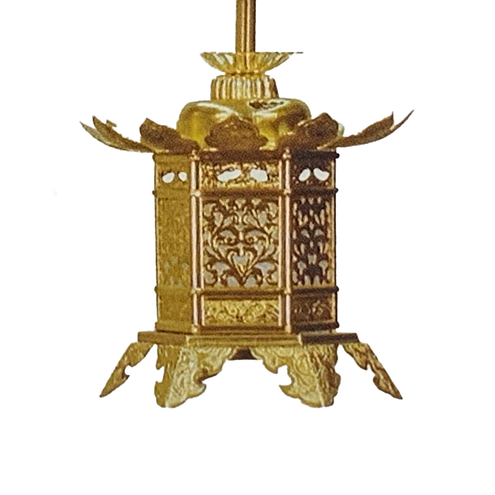 宗派によって仏壇に飾る灯篭の種類が異なる